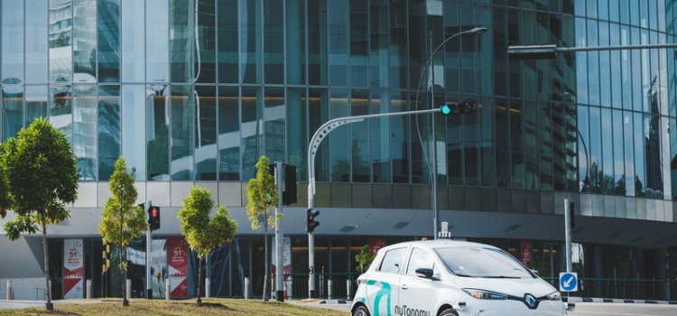 The world's first self-driving taxis take the first ride in Singapore