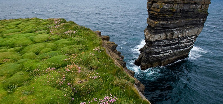 """Climber conquered the """"broken fort"""" of Ireland"""