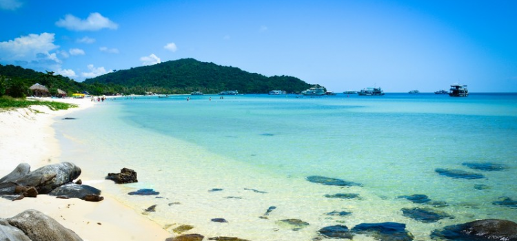 Idyllic beaches in Phu Quoc island
