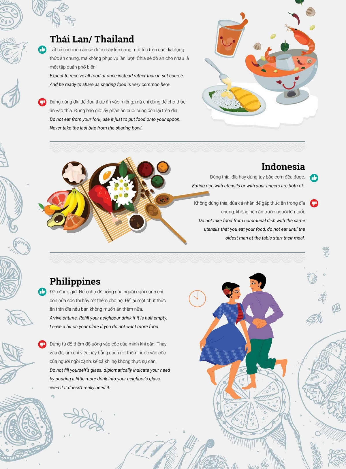 Wanderlust Tips Magazine   Dining etiquette in different countries