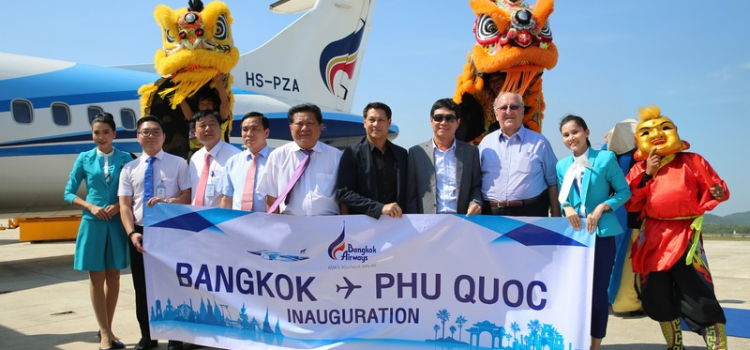 Bangkok Airways launches Bangkok – Phu Quoc air route