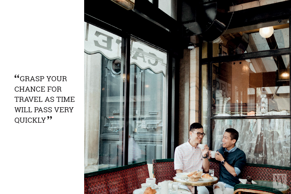 Wanderlust Tips Magazine | Adrian Anh Tuan: Grasp your chance for travel as time will pass very quickly