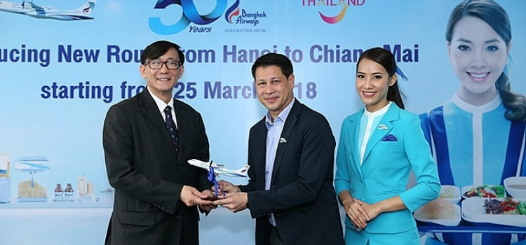 Bangkok Airways to launch the first Hanoi-Chiang Mai direct flight
