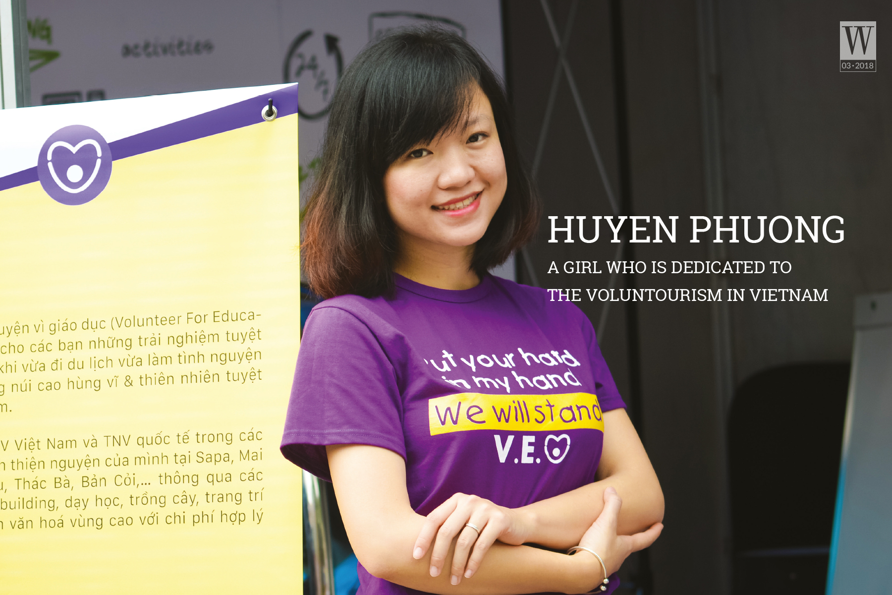 Wanderlust Tips Magazine | Huyen Phuong – A girl who is dedicated to the voluntourism in Viet Nam