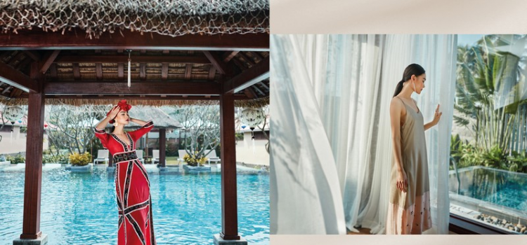 Travel fashion collection: The meticulous care of silk
