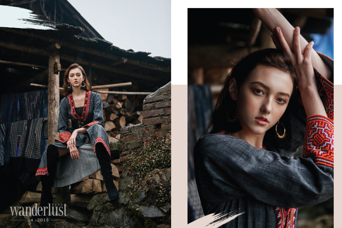 Wanderlust Tips Magazine | Fashion collection: Sa Pa in April