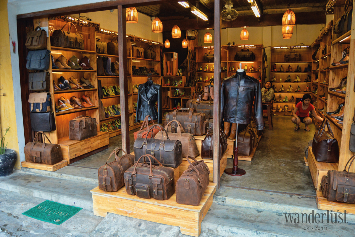 Wanderlust Tips Magazine | Tailoring Ao dai in Hue, go to Hoi An for shoes making