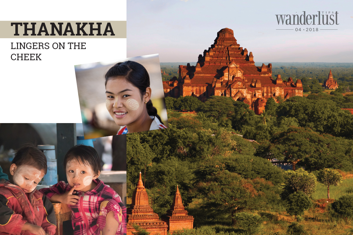 Wanderlust Tips Magazine | Thanakha lingers on the cheek