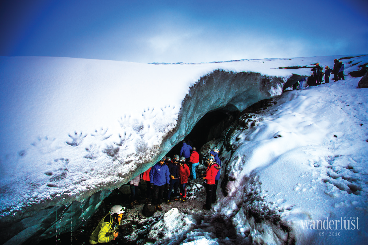 Wanderlust Tips Magazine | Tips for exploring the ice caves on a budget