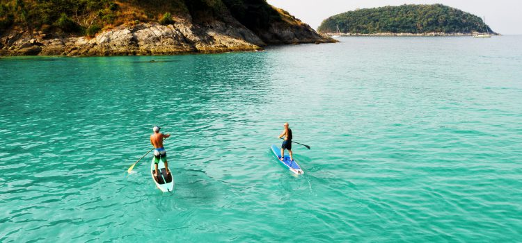Stand-up Paddle boarding being adrift a faraway land (part 2)