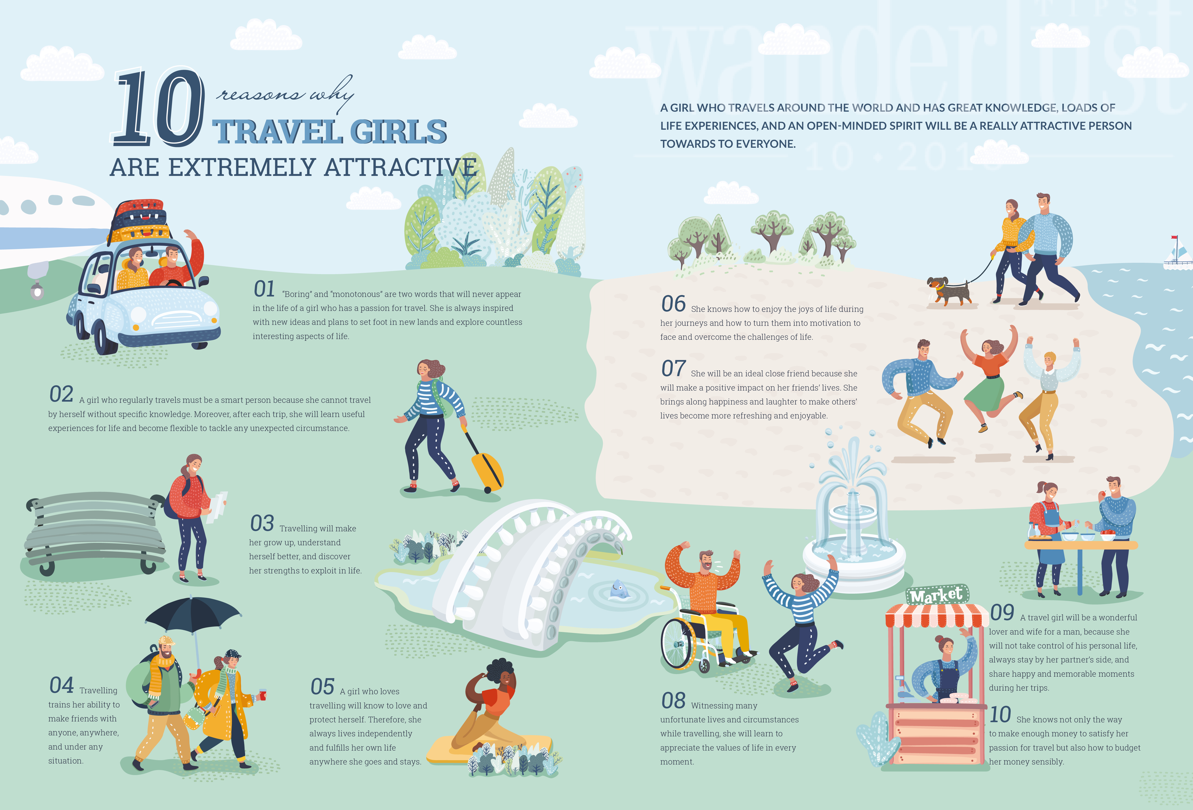 Wanderlust Tips Magazine   10 reasons why travel girls are extremely attractive