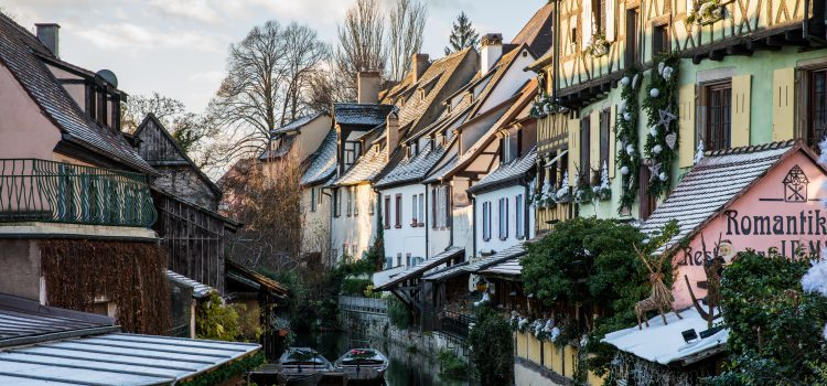 Colmar on the Alsace wine route