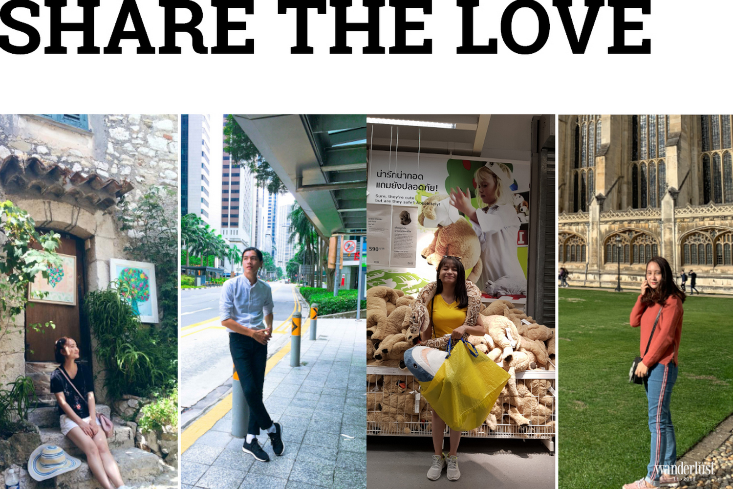 Share the love: Shopping tourism