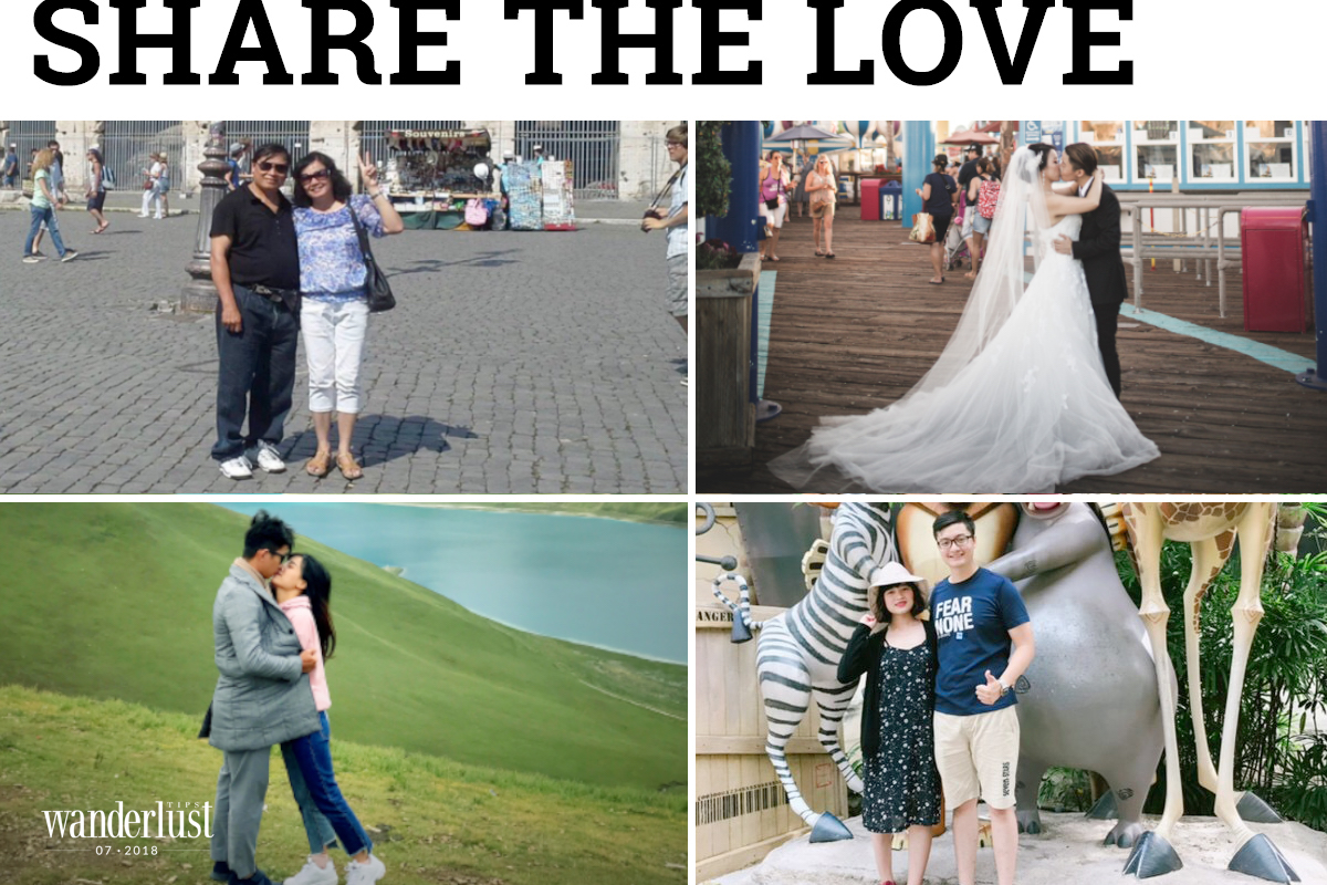 Share the love: Couples and honeymoon