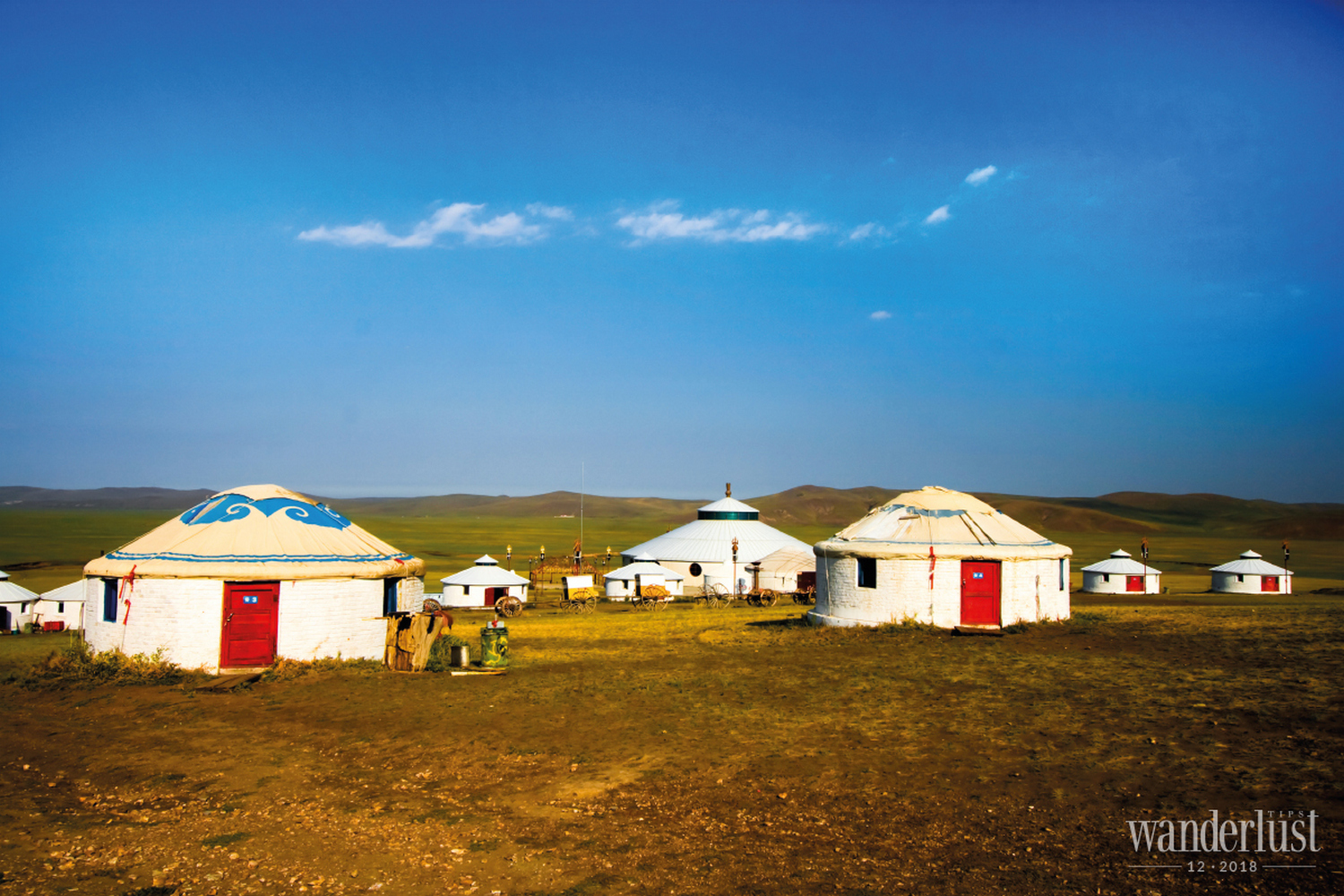 Wanderips Magazine | The unique yurt tent of the Mongols
