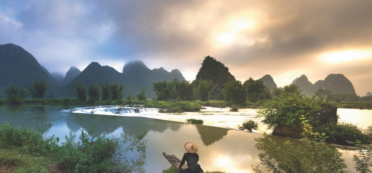 Mesmerised by the magnificent scenery of Cao Bang