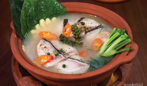 Vietnamese fermented rice delicate sour features in Vietnamese cuisine