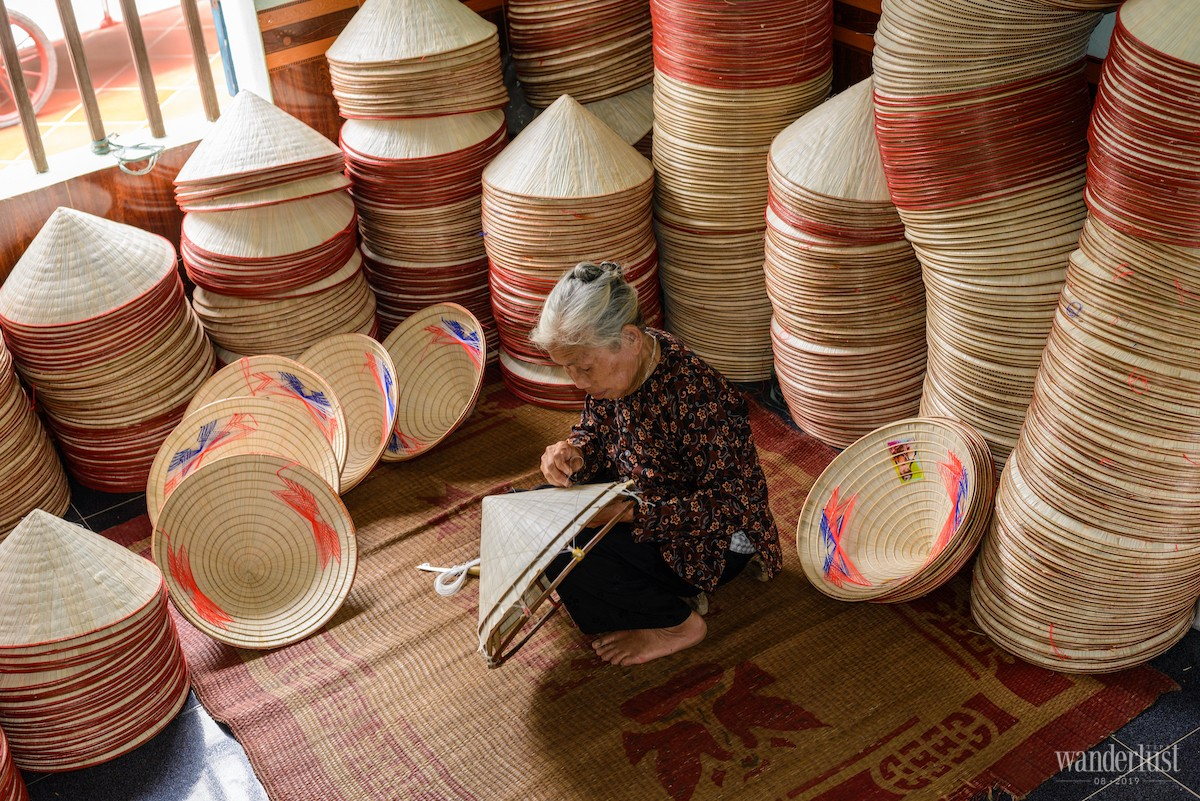 Wanderlust Tips Magazine | Discover the tale behind the Chuong conical hats