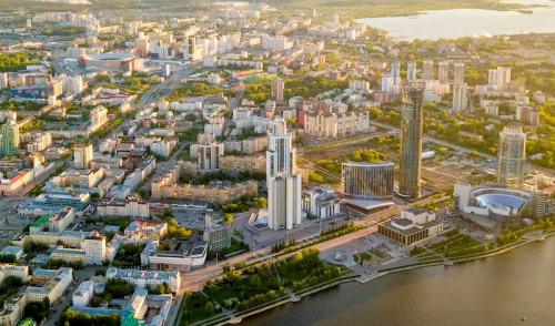 Russian in May (Part 2): Yekaterinburg, the heart of the Urals