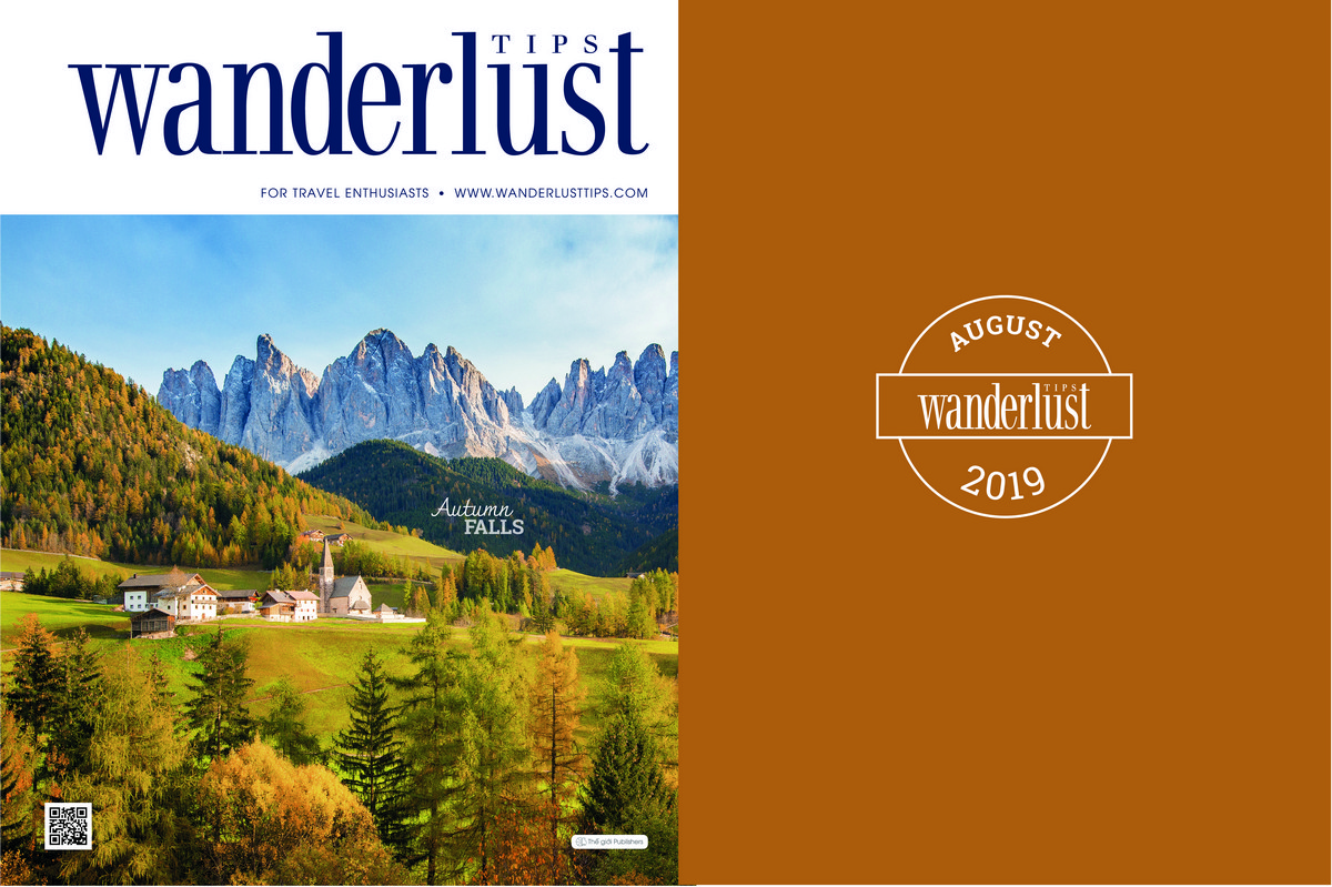 Wanderlust Tips Magazine | Wanderlust Tips Magazine in August 2019: Autumn falls