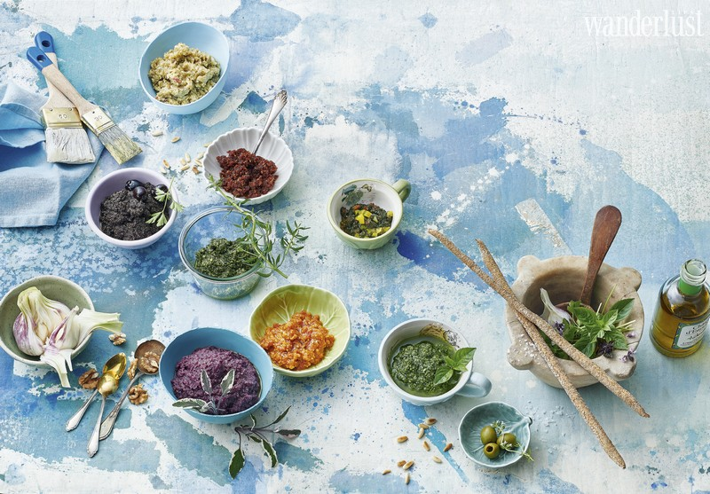 Tạp chí Du lịch Wanderlust Tips Mövenpick Hotel Hanoi features the flavours of the Mediterranean this autumn with its innovative 'Pesto and Pistou' menu