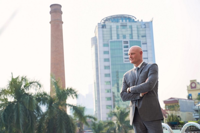 A conversation with Mr. Lee Pearce – General Manager of Pullman Hanoi Hotel