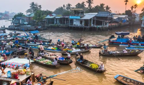 Markets are at the heart of Vietnamese culture