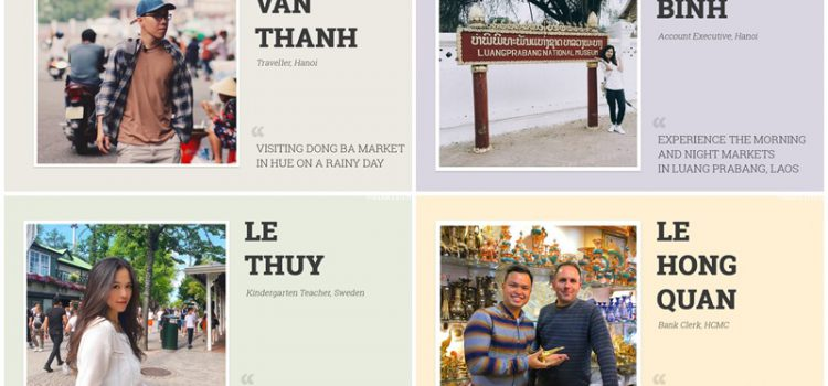 Share the love with travel: Colours of the markets