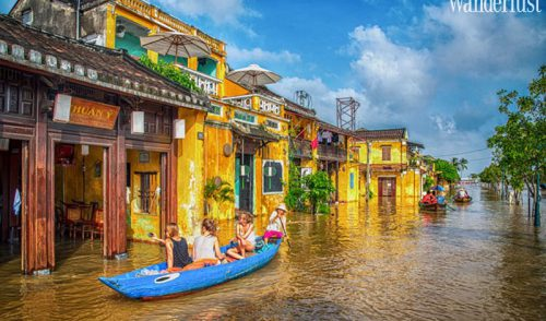 Experience delightfully charming Hoi An in the rain