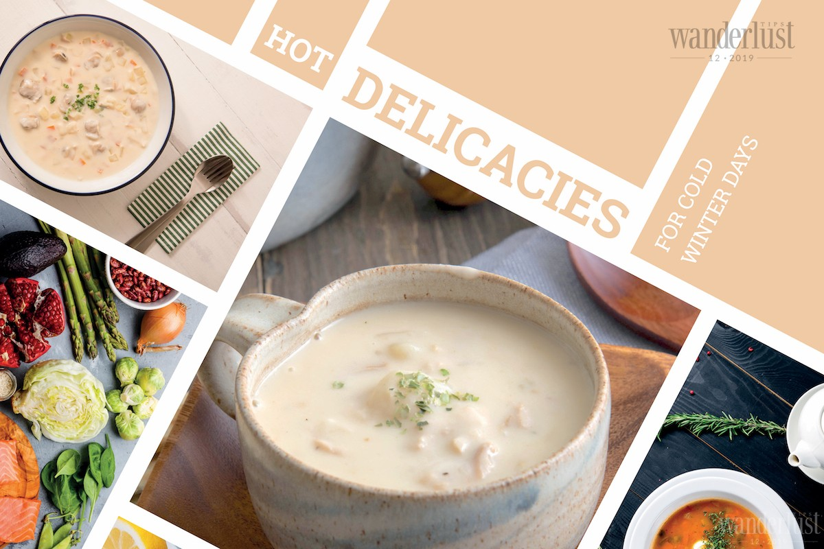 Wanderlust Tips | Hot delicacies for cold winter days