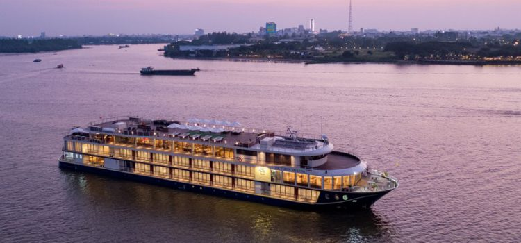 Gala celebrations to mark inaugural sailing of the Victoria Mekong