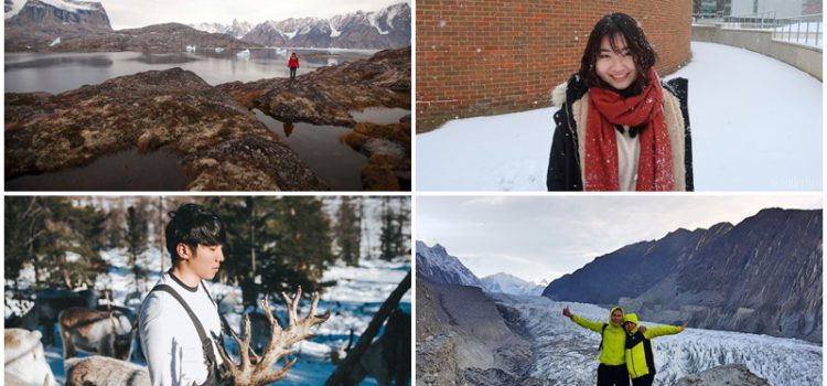 Share the love with travel: Wintry Walks