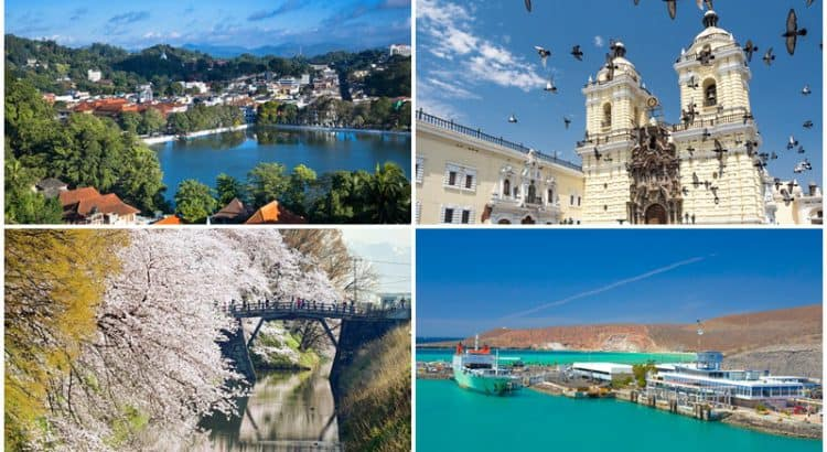 Best destinations to welcome 2020