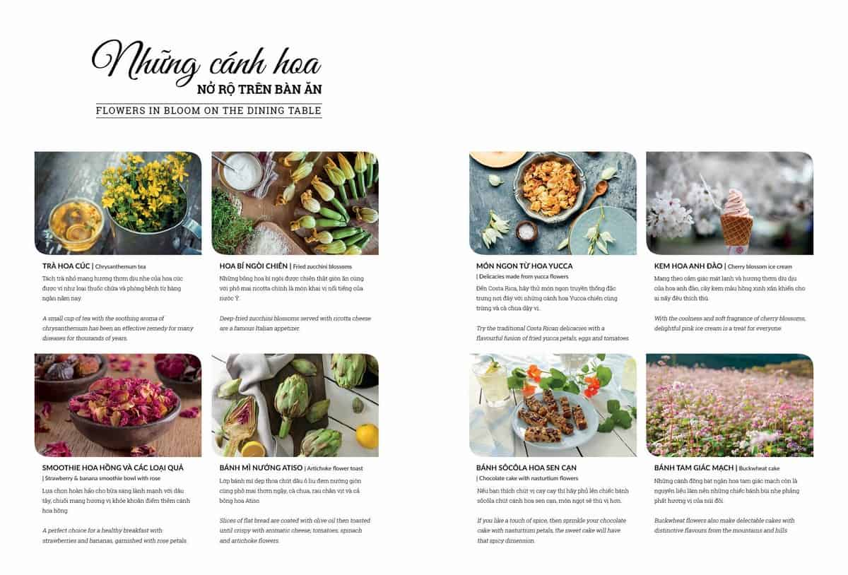 Wanderlust Tips magazine | Flowers in bloom on the dining table