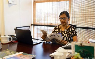 Wanderlust Tips magazine   Interview with Ms. Shiromal Cooray - Managing Director of Jetwing