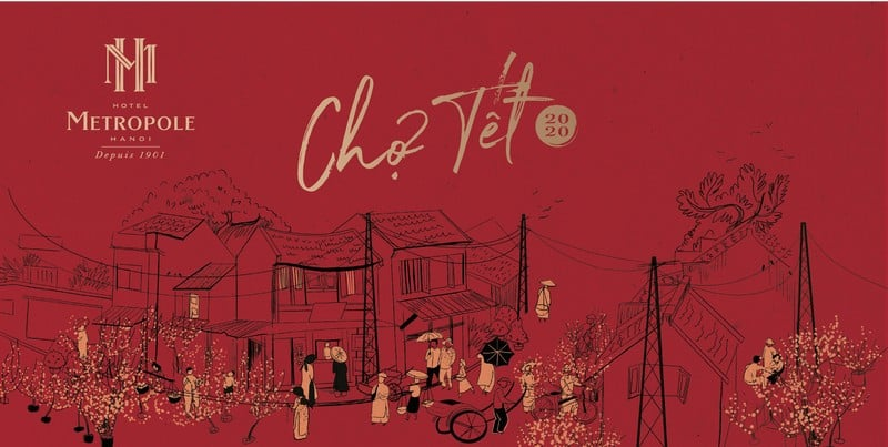 Wanderlust Tips magazine | Metropole Hanoi celebrates Tet with Old Quarter-style market and more