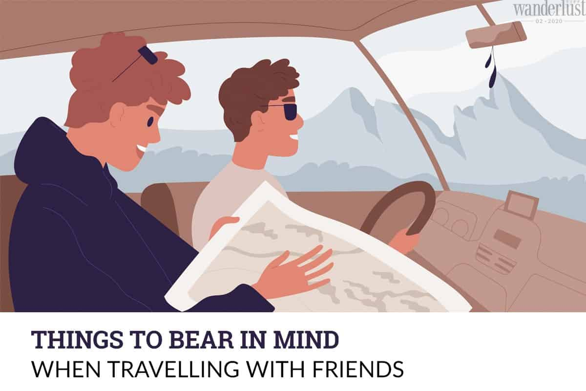 Wanderlust Tips Magazine | Things to bear in mind when travelling with friends