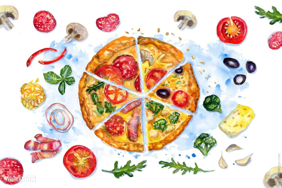 Wanderlust Tips Magazine | Pizza: A gastronomic work of art