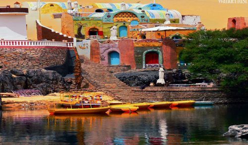 An awe-inspiring getaway to the vividly colourful Nubian Village, Egypt